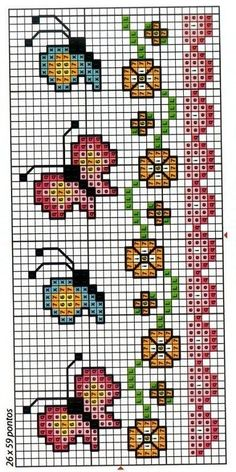 Thrilling Designing Your Own Cross Stitch Embroidery Patterns Ideas. Exhilarating Designing Your Own Cross Stitch Embroidery Patterns Ideas. Cross Stitch Bookmarks, Mini Cross Stitch, Cross Stitch Borders, Counted Cross Stitch Patterns, Cross Stitch Charts, Cross Stitch Designs, Cross Stitching, Cross Stitch Embroidery, Embroidery Patterns