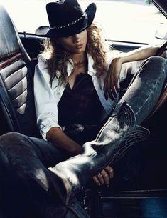 Vogue Paris November 2012. Ph: Lachlan Bailey; Model: Anna Selezneva; Stylist: Geradline Saglio