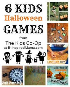 Give your little bundles of energy something to get revved up about this season with 6 Kid-Friendly Halloween games for indoor and outdoor fun!