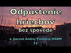 Timkovic 71 Odpustenie hriechov bez spovede 2020 - YouTube