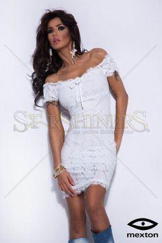 Mexton Warm Place White Dress