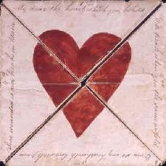 ♕ Oldest known Valentine, 1790   currently housed at the British Postal Museum and Archive