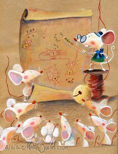 Juntáronse los ratones para librarse del gato; y después de largo rato de disputas y opiniones, dijeron que acertarían en ponerle un cascabel, que andando el gato con él, librarse mejor podrían. &n...