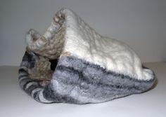 Moira West, Johari, 2013, jute, silk, linen and wool felted.