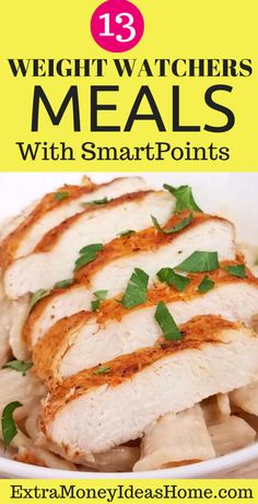 13 Ultimate Weight Watchers recipes with Smart Points. The best Weight Watchers recipes with Smart Points to help you lose weight faster and stay healthy Weight Watcher Dinners, Weight Watchers Desserts, Easy Healthy Recipes, Healthy Food, Healthy Eating, Stay Healthy, Healthy Weight, Dinner Reciepes, Weightwatchers Recipes