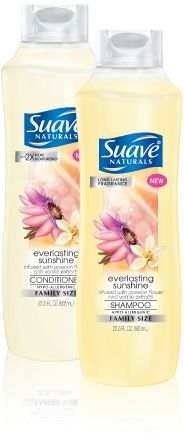Suave Naturals Everlasting Sunshine Shampoo and Conditioner - a wonderful ingredient in homemade fabric softener.  FANTASTIC scent!