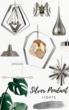 Give any room a modern update with one of these silver pendant lights from Lighting House. These silver tones will set a cool mood in the room! Modern Pendant Light, Pendant Lights, Light Fixtures, Light Bulb, Place Card Holders, Mood, Cool Stuff, Lighting, Silver