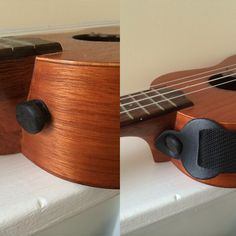 My surgu hack! Make a strap button for a ukulele