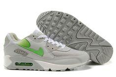 Nike Air Max 90 Herren Schuhe Grau/Grün