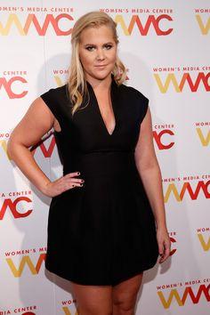 Comedian Amy Schumer attends The Women's Media Center 2015 Women's Media Awards on November 5, 2015 in New York City.