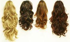 Fotos de Mega Hair antes e depois de usar as técnicas de Microlink, Cola de…