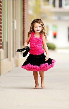 Girl fashion princess // Vestido de princesa de niña