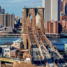 Brooklyn Bridge - from Manhattan facing Brooklyn