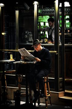 Night Streets of Paris France Journal Photo, Male Character, My Sun And Stars, Shooting Photo, Mans World, Paris Street, Paris Cafe, Paris France, Street Photography