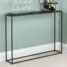 TFG Urban Console Table in Coco 8x40 025466759774 by TFG. $249.00. Modern Style Piece. Size: 29 1/2''tall x 40''wide x 8''deep. Material: Steel. Sleek design is well suited for smaller spaces. 025466759774  Features: -Urban tables are constructed with solid steel rods and steel plate tops.-Tables feature a beautiful and durable powder coated in coco.-Sleek design is well suited for smaller spaces. Color/Finish: -Coco finish. Assembly Instructions: -No assembly requ...