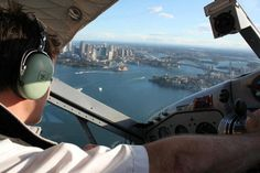 taken from a Sydney seaplane - Australia