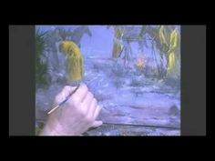 Learn to paint rain with Jerry Yarnell - YouTube