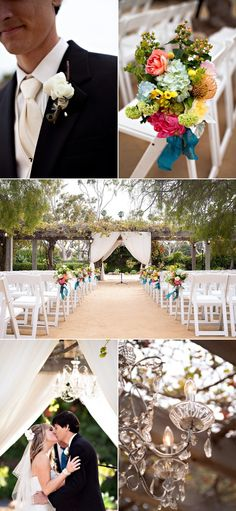 Classic Spanish architecture and beautiful grounds make the Santa Barbara Historical Museum a perfect--and unique!--wedding venue in downtown SB.