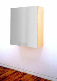 HAIM STEINBACH Untitled, 1993  Plastic and chrome laminated wood box, dimes 44 1/10 × 33 9/10 × 14 1/5 in 112 × 86 × 36 cm copyright Haim Steinbach courtesy Lia Rumma Gallery Milan/Naples Lia Rumma