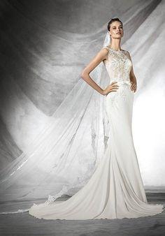 PRONOVIAS TAIS Wedding Dress photo