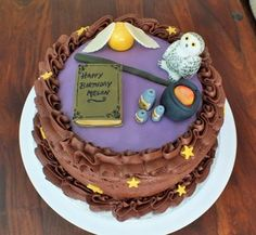 Harry Potter Birthday Cake Jpg 300 277