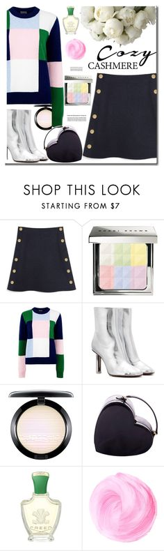 """""""Cozy chic"""" by arohii ❤ liked on Polyvore featuring Mulberry, Bobbi Brown Cosmetics, Markus Lupfer, Vetements, MAC Cosmetics, Moschino, Creed and cozychic"""