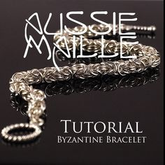 Chainmaille+Tutorial++Byzantine+Chain+Maille+by+AussieMaille,+$3.50