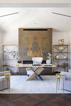 If you are still thinking about designing an aesthetically pleasing and productive space, you need to check out these home office décor trends in 2021. Home Office Chairs, Home Office Space, Office Decor, Office Ideas, Attic Office, White Lacquer Desk, Modern Home Offices, Simple Furniture, Scandinavian Home