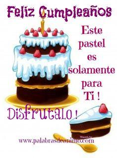 Un Biscocho De Feliz Cumpleanos | Frases bonitas para felicitar cumpleaños a una amiga - Anny Imagenes!