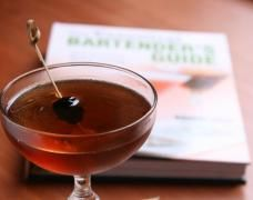 Throughout the Cocktail Spirit web video series, Robert has explained why certain cocktails should be stirred while others benefit from a good shake. In this episode, he demonstrates why with the classic Manhattan cocktail. Rye Cocktails, Manhattan Cocktail, Fruit Puree, Best Shakes, Cocktail Glass, Bartender, Alcoholic Drinks, Beverages, Sweet