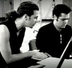 Michael Hutchence & Andrew Farris