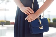 Valentino ocean blue handbag