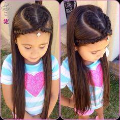 Heart hair style for little girls Heart hair style for little girls Lil Girl Hairstyles, Kids Braided Hairstyles, Princess Hairstyles, Holiday Hairstyles, Pretty Hairstyles, Baby Girl Hair, Heart Hair, Toddler Hair, Braids For Long Hair