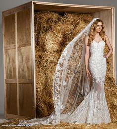 zuhair murad spring 2015 lace wedding dress