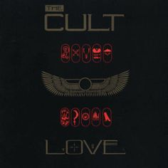 the cult~love.  One of my favorite albums of all time.  This album contains one of the best dance tracks ever  Sanctuary.