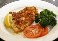 Tilapia With Cajun Seasoned Crumb Topping Diana Rattray    Cheap and Easy - just the way I like my dinners.  So last week at my weekly din...