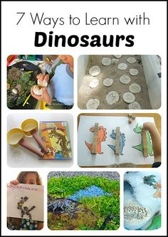 7 Creative Ways to Learn with Dinosaurs and Fossils