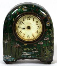 Cloisonne Japanese Table Clock