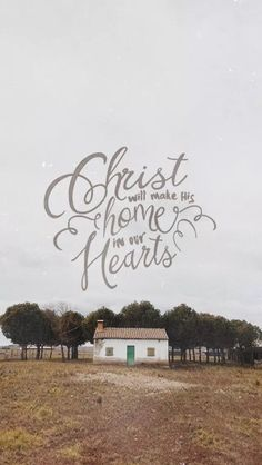 Then Christ will make his home in your hearts as you trust in him. Your roots will grow down into God's love and keep you strong. - Eph House Keeping Give Me Jesus, God Jesus, Jesus Christ, Worship Wallpaper, How He Loves Us, Christian Inspiration, Biblical Inspiration, Bible Verses Quotes, Scriptures