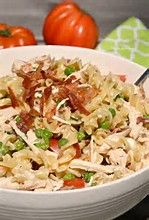Chicken Bacon Ranch Pasta Salad | The Cooking Insider