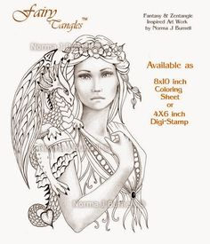 Fairy Tangles: New Fairy-Tangles™ Release - Fairy Dragon Queen