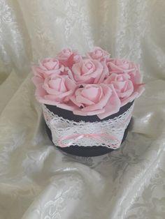 "Blanche Fleur virágdoboz - ""Pink lady"""