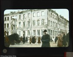 The Russian Revolution in Color Photos, 1917