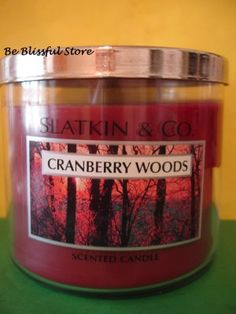 Bath & Body Works Cranberry Woods Candle 3 Wick Candle