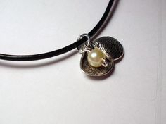 Pearl and Shell Charms Necklace
