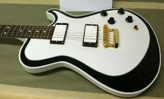 Knaggs Kenai T2 Double Purf with cool white pickups