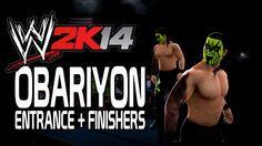 WWE 2K14 - Obariyon Entrance + Finishers
