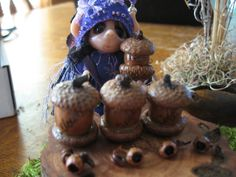 On sale down from 1995 Fairy House    Acorn by CoyoteWoodWorks, $15.95