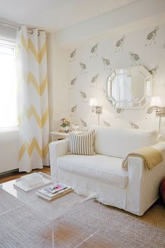 Chic Chevron - Living Room Design Ideas & Pictures - Decorating Ideas (EasyLiving.co.uk)