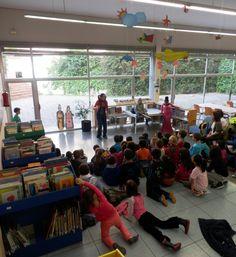 Celebrant Sant Jordi amb les escoles de Mataró.